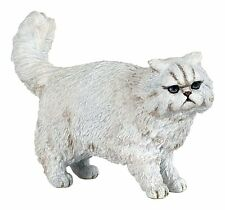 *New* Papo 54042 White Persian Cat - Standing Pose