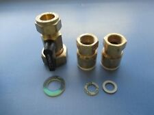 Morco Water Heater Fitting Kit D61B/E With 10mm Isolating Gas Tap
