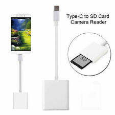 TYPE-C TO SD CARD DIGITAL CAMERA READER OTG ADAPTER CABLE FOR MACBOOK PRO PHONE