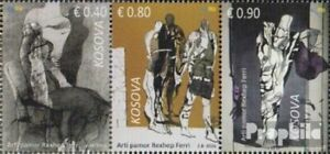 kosovo 332-334 triple strip (complete issue) unmounted mint / never hinged 2016