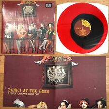Panic! at the Disco - A Fever You Can't Sweat Out Vinyl LP Red/Black Colored New