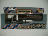 1982 Matchbox Convoy Series Midnight X-Press