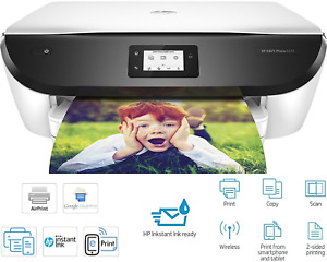 HP ENVY Photo 6234 Wireless All-in-One Smartphone Inkjet Photo Printer, NO INKS