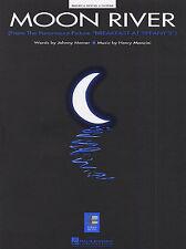 Henry MANCINI MOON RIVER colazione a Tiffanys Play PIANOFORTE CHITARRA PVG LIBRO MUSICA