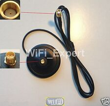 WiFi Magnetic Base RP-SMA 5 Foot Extension Cable USA
