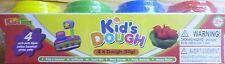 4 Frascos De Kids Plastilina (50 gramos cada uno) y de los animales Moldes (perro, querido, pato Etc)