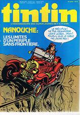 ▬► TINTIN N° 22 de 1980 Nanouche Archives Moulinsart Ernst