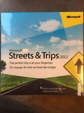 1 Microsoft Streets and & Trips 2013 Maps Of North America New Full Retail Rare