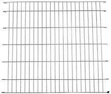 Ellie-Bo Black Divider for 48 inch XXL Dog Crate Cage
