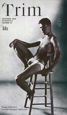 Trim No.41, December 1964, Vintage Male Beefcake Gay Magazine