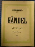 Edition Peters Nr.60 Händel Messias Klavier Auszug H9234