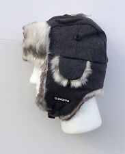 Wool/Polyester Sylish Winter Trapper Hat Warm Soft Faux Fur HeadWear UniSex, NEW