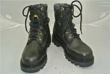 CATERPILLAR BLACK LEATHER BOOTS (UK SIZE 6) DIESEL POWER WALKING MACHINES