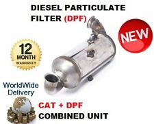 FOR PEUGEOT 307 110BHP 1.6 2007-> DPF DIESEL PARTICULATE FILTER + CAT COMBINED
