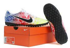 Nike Men Mercurial Vapor 13 TF Cleats Futsal Soccer Blue Spike AT7995-104