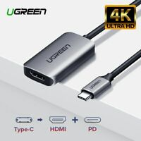 Ugreen USB C to HDMI Adapter 4K 60HZ PD Charging Type C Converter Fr Macbook Pro