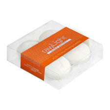 FLOATING CANDLES - 2 x 4 Pack - 12 Hour - White - Unscented