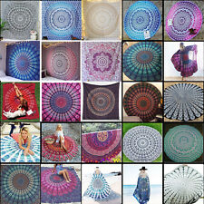 Mandala Tapestry Indian Wall Hanging Decor Bohemian Hippie Bedspread Throw new
