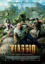 POSTER JOURNEY 2 THE MYSTERIOUS ISLAND VIAGGIO NELL'ISOLA MISTERIOSA THE ROCK #2