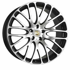 "22"" BLACK and Polished ALTUS ALLOY WHEELS FITS RANGE ROVER SPORT and 05  BMW X5"