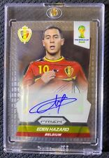 2014 Panini Prizm World Cup Eden Hazard Autograph sports trading card