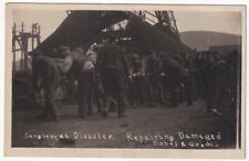 More details for senghenydd disaster - repairing damaged ropes and guide