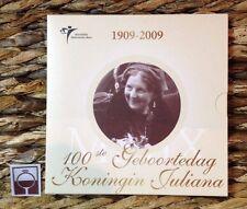 NEDERLAND THEMASET 2009 - 100ste GEBOORTEDAG KONINGIN JULIANA