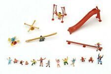 More details for preiser playground children figures painted ho gauge 1/87 scale e23