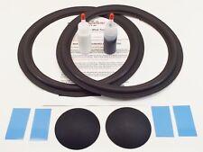 "JBL 2214H L100T 12"" Woofer Foam Kit - Speaker Repair w/ Shims & Dust Caps!"