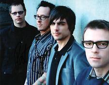 GFA American Rock Band * WEEZER * Signed 8x10 Photo AD2 COA