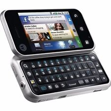 NEW Motorola Backflip MB300 AT&T 3G Qwerty Keyboard Android Smartphone - Silver