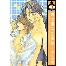 Kimi de Oboreta Ato wa YAOI Manga Japanese / MINAMI Haruka