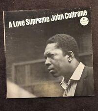 John Coltrane - A Love Supreme - ORIGINAL 1965 VINYL LP