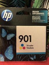 HP #901 Color Ink Cartridge GENUINE NEW! Factory Sealed And Dated 10/2018