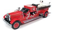 TEXACO 1929 MACK FIRE TRUCK  Collector Die Cast Bank Fireman Hat Dalmatian NIB