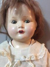 "Century Dolls Co Composition Sleepy Eyes 20"" Doll"
