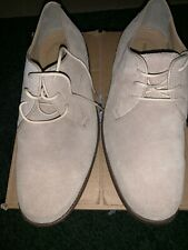 Hush Puppies Men's Size 8.5 Stone Color Loafer Suede Material