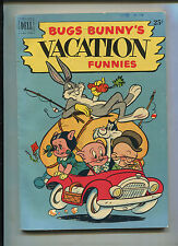 DELL GIANT BUGS BUNNY VACATION FUNNIES #1 (7.0)