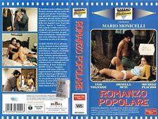 Romanzo popolare (1974) VHS Number One  Monicelli Ugo Tognazzi Ornella Muti CULT