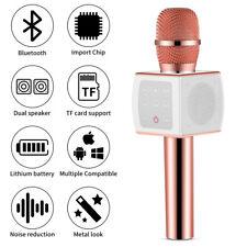 New listing R8 Wireless Bluetooth Karaoke Microphone Stereo Mic Ktv Usb Speaker Player