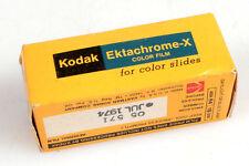 KODAK EKTACHROME-X 120 FILM FOR COLOR SLIDE FILM, UNOPENED   EXP. 1974