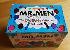 Mr Men The Complete Collection by Roger Hargreaves 50 Book Set - One Missing