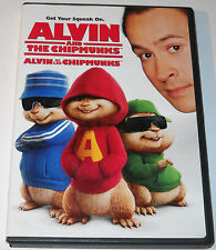 Alvin and the Chipmunks 2007 (DVD) Double Sided Full Screen/Wide Screen Used