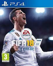 FIFA 18 PS4 JUEGO FISICO JUEGO EN ESPAÑOL NUEVO PRECINTADO CASTELLANO