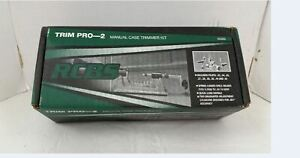 RCBS 90366 Trim Pro-2 Kit with Spring Loaded Shell Holder USED