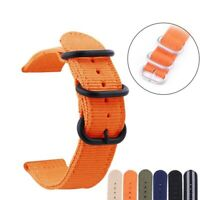 Watch Replacement Strap Belt Nylon Watchbands Unisex Watch Band Accessories NEW