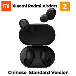 Genuine Xiaomi Redmi Airdots 2 TWS Earphone Wireless Bluetooth 5.0 Black