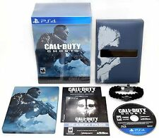 SEALED NEW Sony PS4 Call of Duty GHOSTS Hardened Edition Game Box Set Code COD
