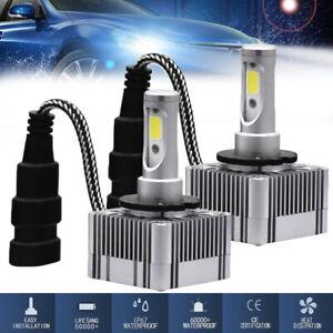 2X 110W 26000LM Car Canbus D1S/D3S LED Headlight Bulb DRL Head Lamp Error Free
