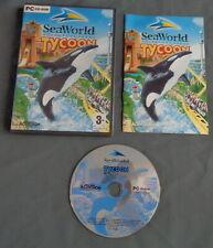 SEAWORLD ADVENTURE PARKS TYCOON spel PC game Windows 98 2000 ME XP Spiel Juego